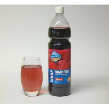 Himbeer Sirup mit Fruchtzucker
