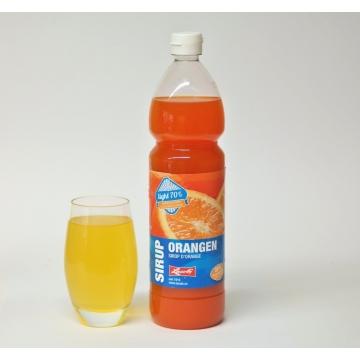 Orangen Sirup ohne weissen Zucker